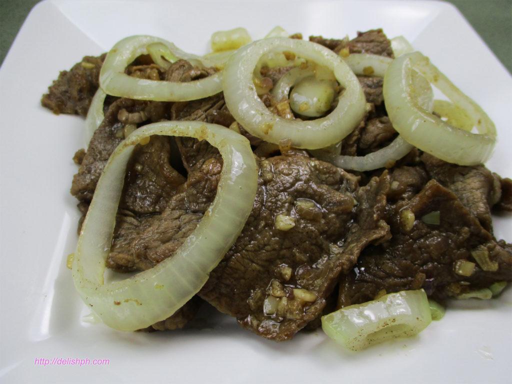 Beef Steak (Bistek)