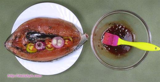 Stuffed Grilled Bangus (Milkfish)