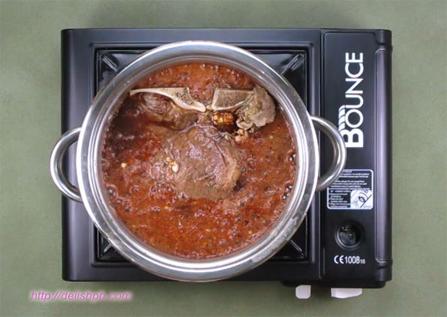 Honey Garlic T-bone Steak (No Oven)