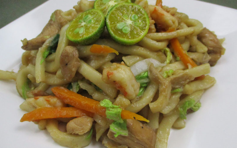 Stir-Fry Chicken Udon Noodles