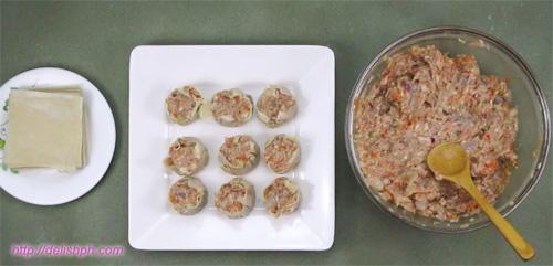 Pork and Seafood Siomai