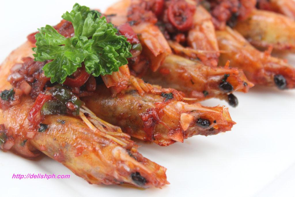 Chili Buttered Garlic Shrimp