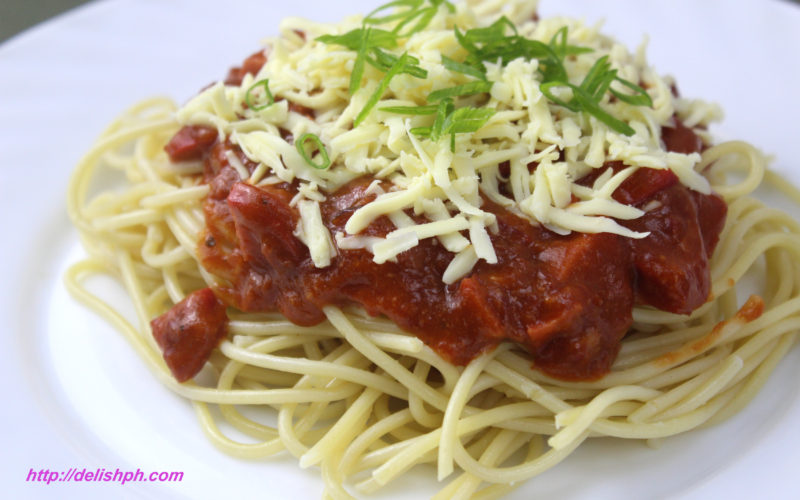 Easy Corned Beef Spaghetti