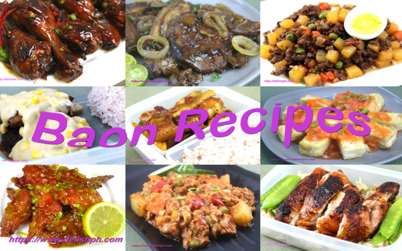 baon recipes