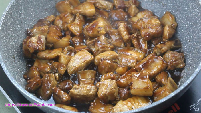 Stir Fry Pork with Oyster Sauce