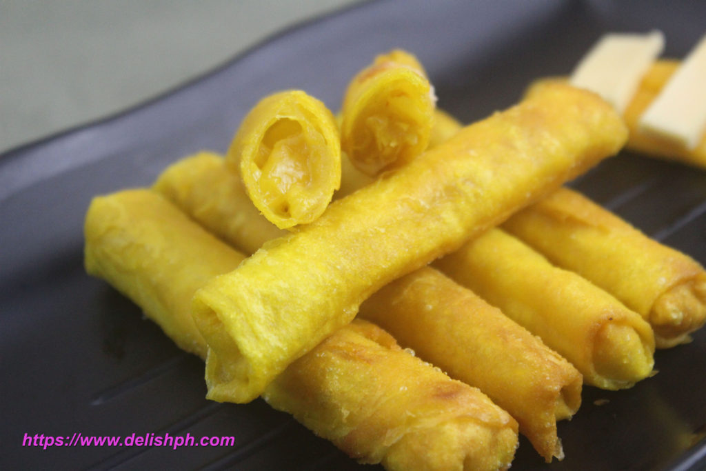 Mango Cheese Sticks