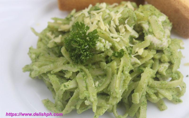 Creamy Malunggay Chicken Pesto Pasta