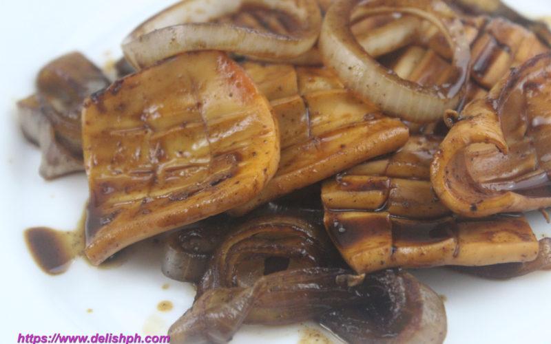 Squid Steak