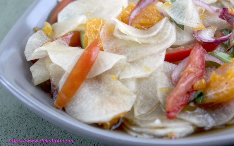 Ensaladang Labanos with Oranges