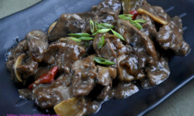 Chicken Liver Adobo