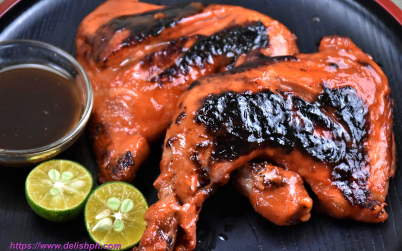 Pan Grilled Chicken BBQ