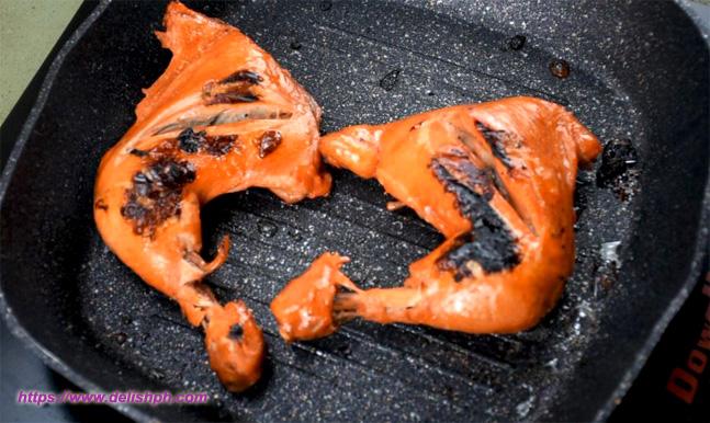 Pan Grilled Chicken BBQ