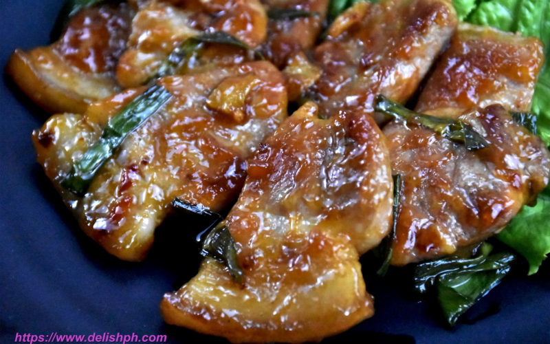 pork in sweet chili sauce