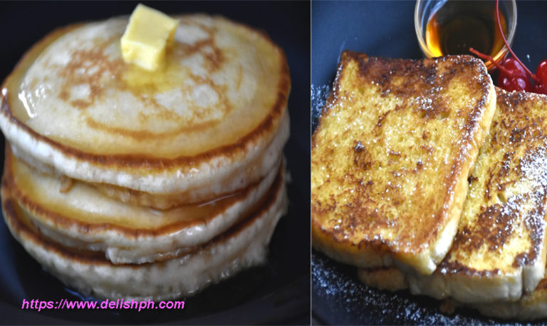 pancakes and french toast