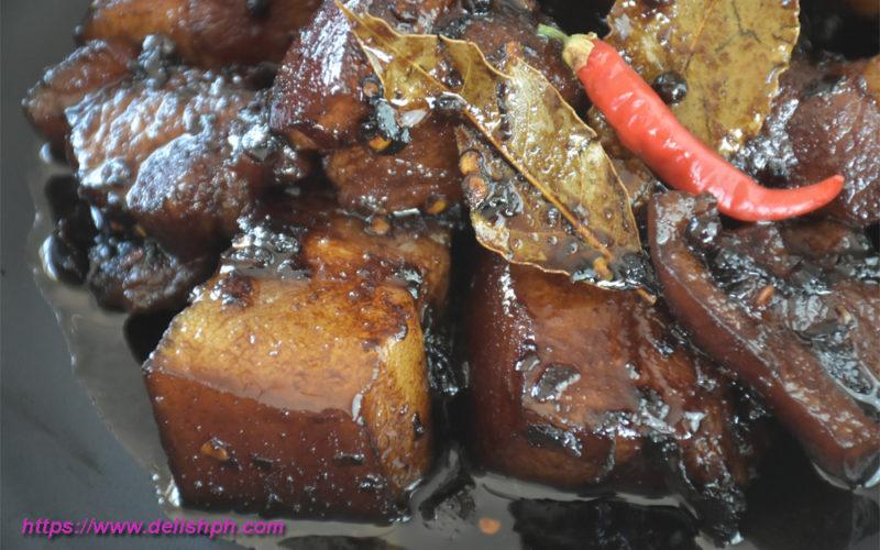 spicy pork adobo