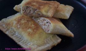 tuna pie using sliced bread