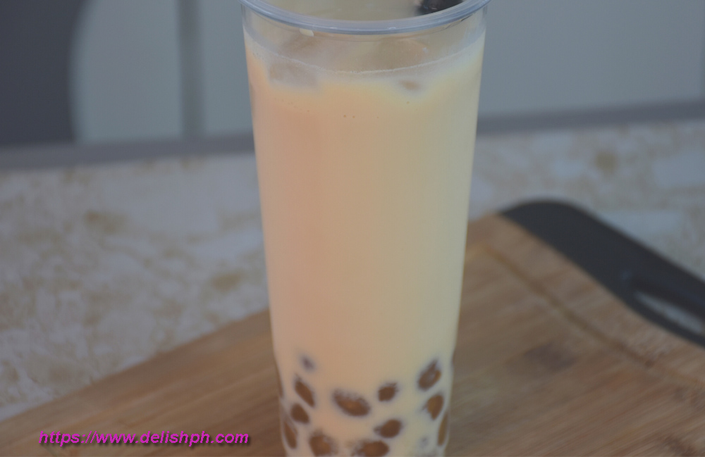 homemade milktea