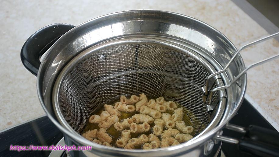 macaroni chicharon