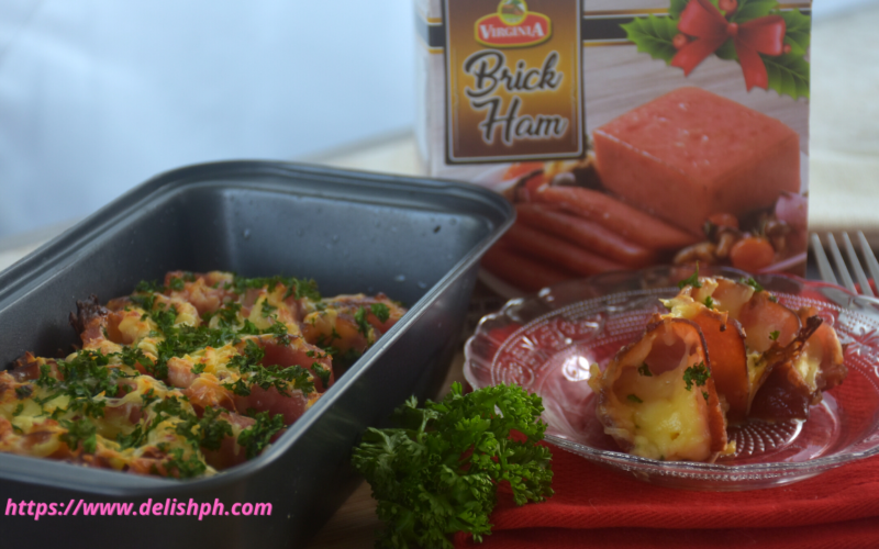 cheesy bake brick ham