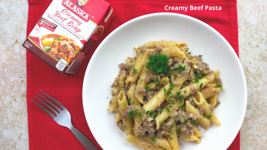 Creamy Beef Pasta